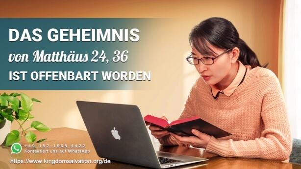 Matthäus 24,36