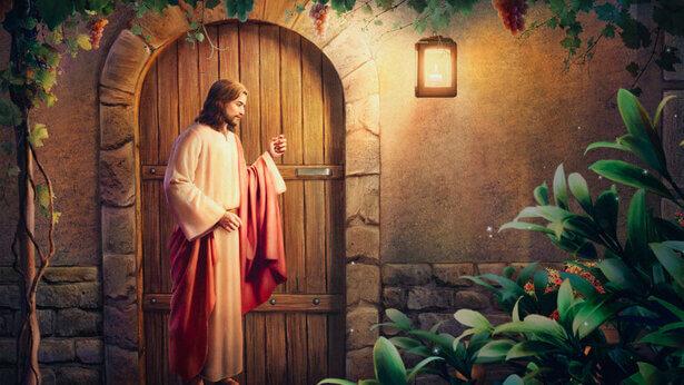 Wie werden wir reagieren, wenn der Herr kommt und an die Tür klopft
