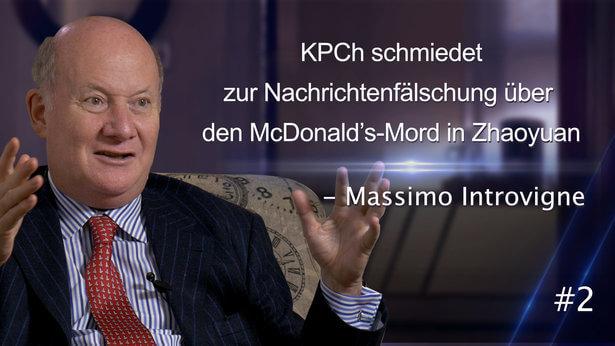 #2 KPCh schmiedet zur Nachrichtenfälschung über den McDonald's-Mord in Zhaoyuan – Massimo Introvigne